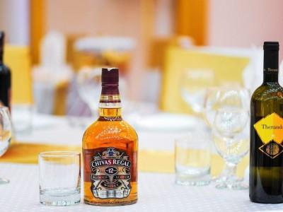 butelka whiskey Chivas Regal
